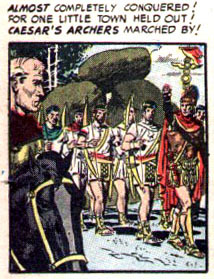 """Caesar!"" in Frontline Combat #8 (1952), script by Harvey Kurtzman, art by Wallace Wood"