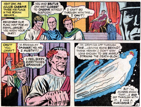 Jimmy Olsen #110 (1968), script by Jim Shooter, art by Curt Swan and George Klein
