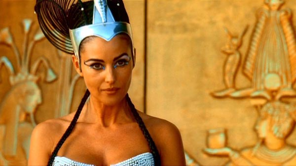 Monica Belluci as Cleopatra in ASTERIX: MISSION CLEOPATRA (2002)