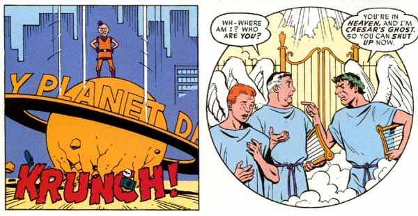 Superman and Batman: World's Funnest one-shot (2000), script by Evan Dorkin, art by Dave Gibbons
