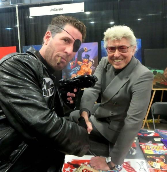 Nick Fury DeVenter and STERANKO
