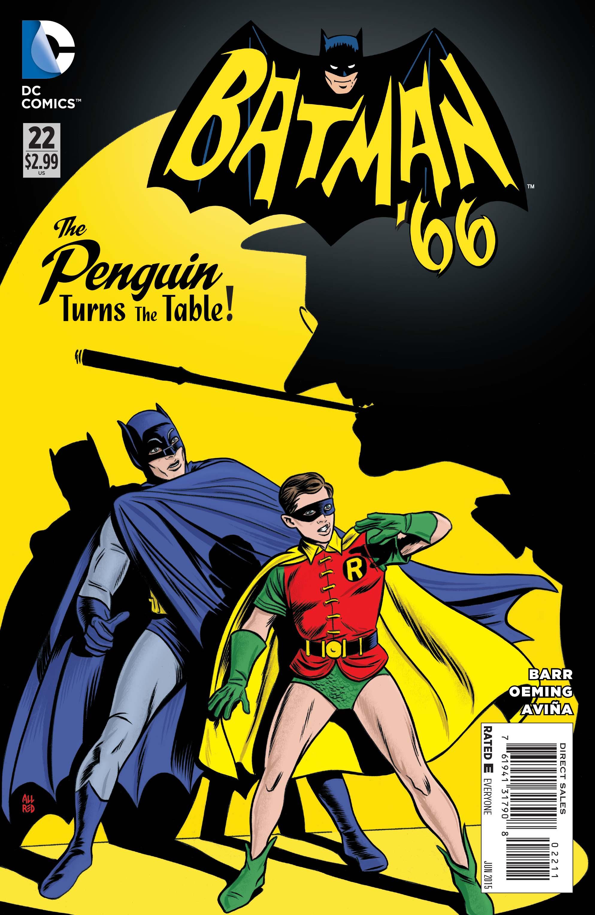Exclusive Preview Batman 66 22 13th Dimension Comics