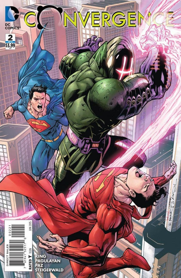 Tony Daniel. But really just because of SUPERMAN-RED and SUPERMAN-BLUE!!!