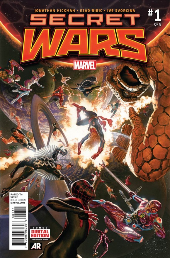 Alex Ross' main cover