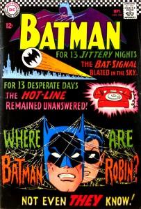 BATMAN #184