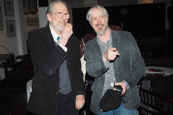 Craig (right) with some dude named Crumb. Photo by Alan Kaplan.