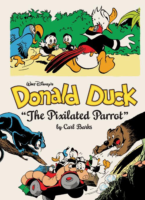 DonaldDuckThePixilatedParrotCVR