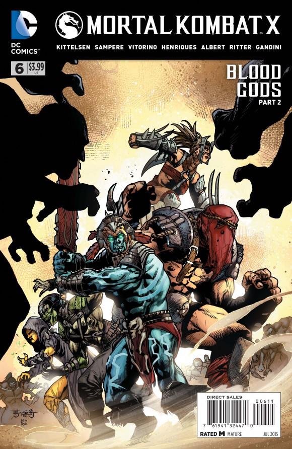Mortal Kombat X 6 Print Cover