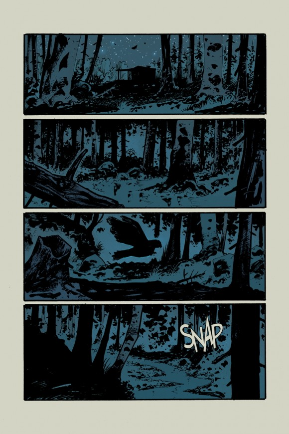 EXCLUSIVE! Page 2 from Rebels #2 by Andrea Mutti w/colors by Jordie Bellaire