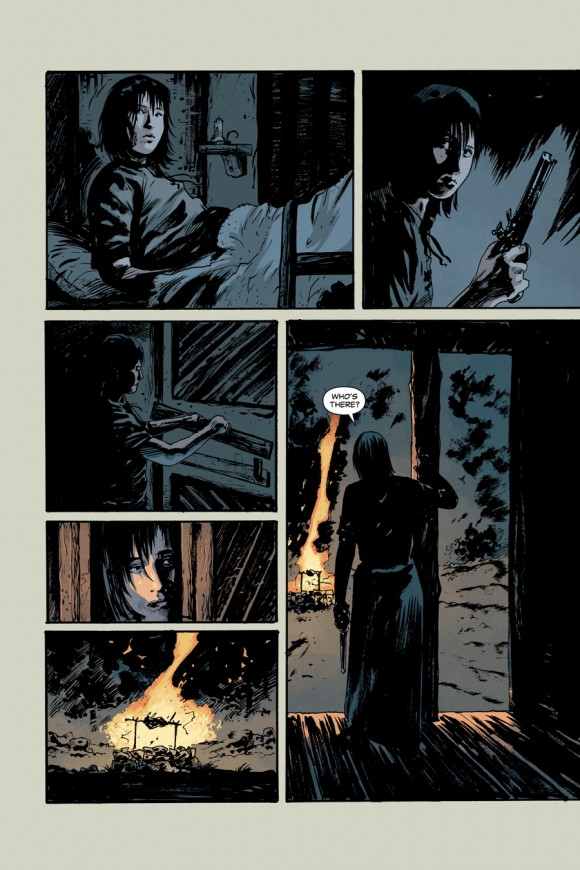 EXCLUSIVE! Page 3 from Rebels #3 by Andrea Mutti w/colors by Jordie Bellaire