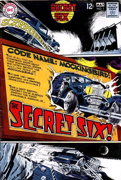 SECRET SIX #1