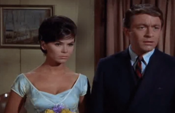 Yvonne with Bill Bixby, before he turned into the Hulk.