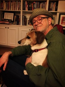 Bob Camp with my dog. Photo by Michele Ford