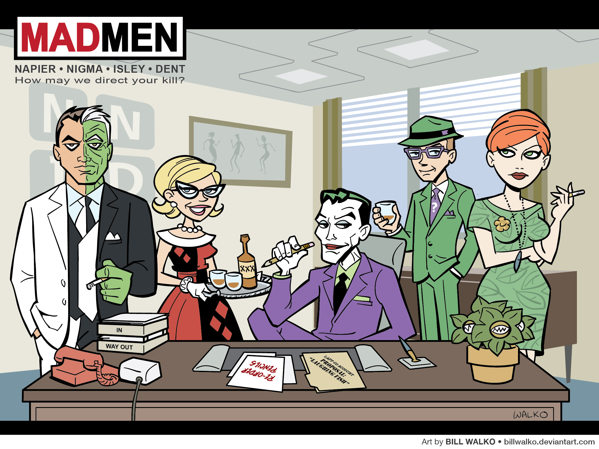 gotham_mad_men_by_billwalko-d5g6ah0