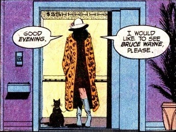 A cameo in the Wein-written Detective #479 before he moved to Batman proper. Art by Marshall Rogers and Terry Austin.