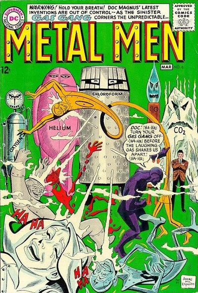 He co-created the Metal Men. Cover by Andru/Esposito.