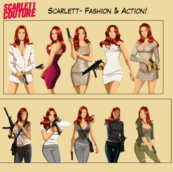 Scarlett Couture style