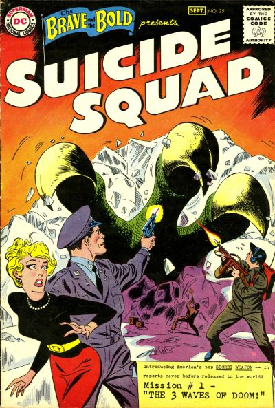 He co-created the Suicide Squad. Andru/Esposito cover.