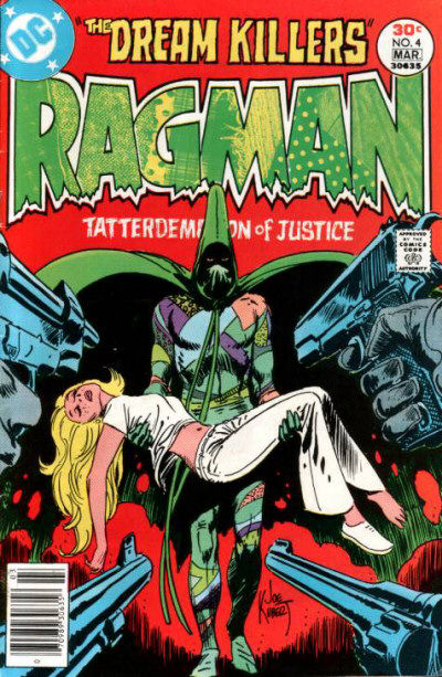 He co-created Ragman with Joe Kubert.