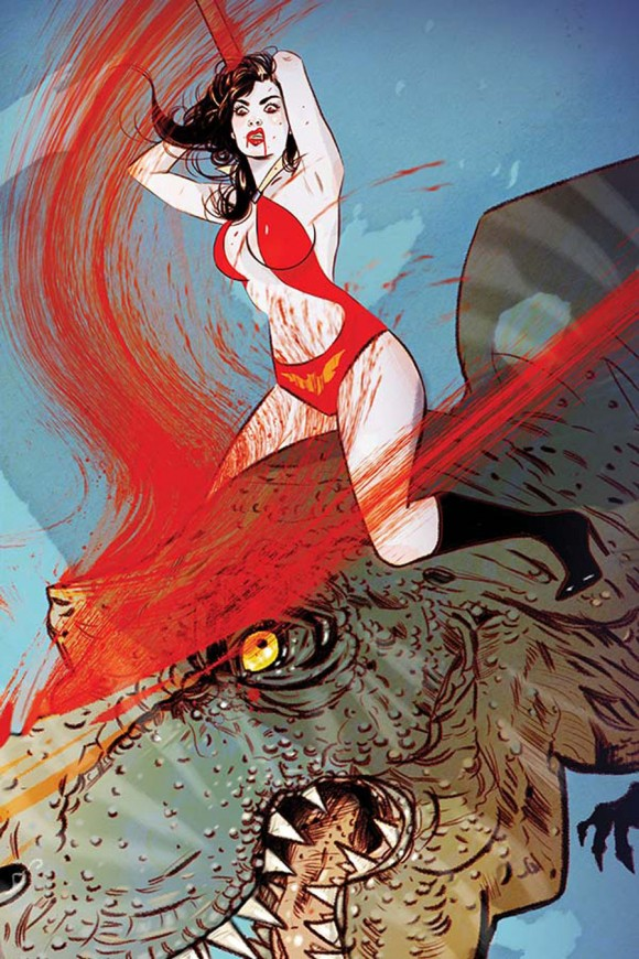 "Tula Lotay. This is just a ""virgin"" version of the main cover, so I admit I'm cheating here. But GodDAMN. (Jenny Frison)"
