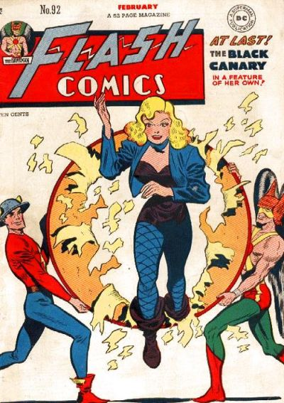He co-created Black Canary. Cover by Infantino.
