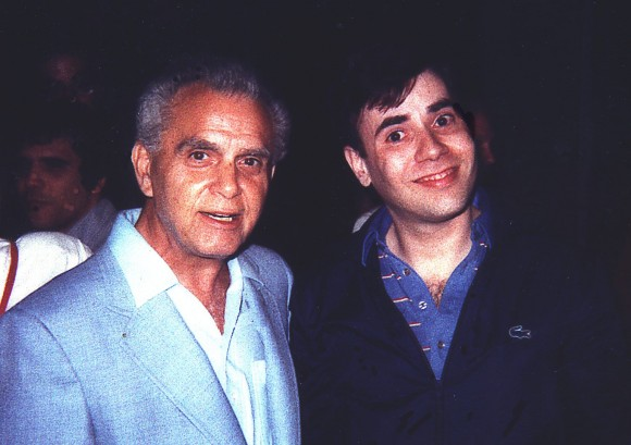 Great shot of young Alan Kupperberg with the great Jack Kirby.