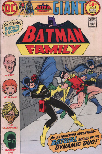 The only all-reprint issue of Batman Family