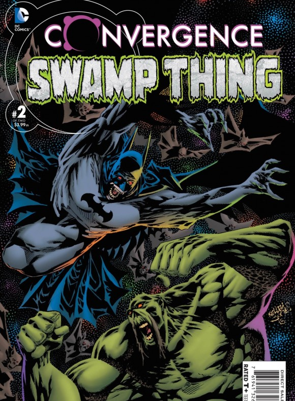Kelley's recent work with Swamp Thing co-creator Len Wein.