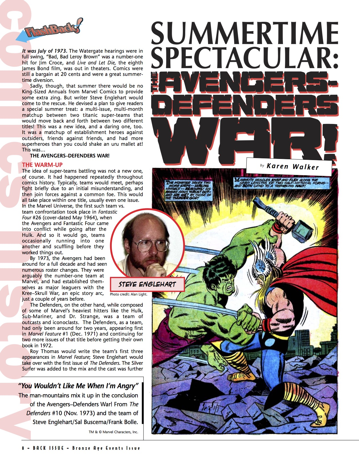 BI #82 Avengers-Defenders