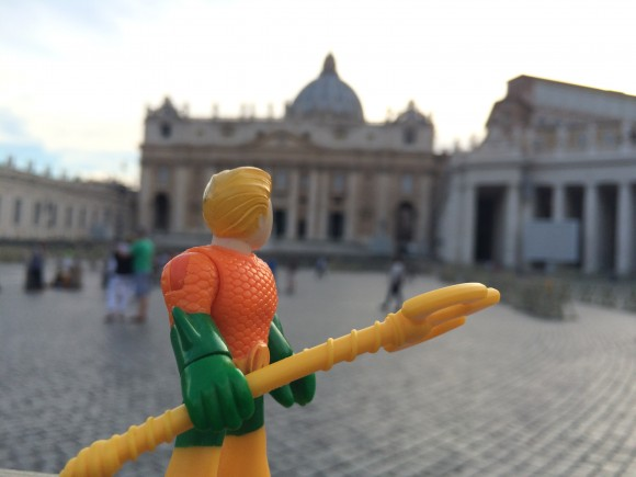 St. Peter's ... how majestic. I must show this to Mera.