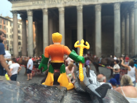 The Pantheon! Truly Atlantean in scale!