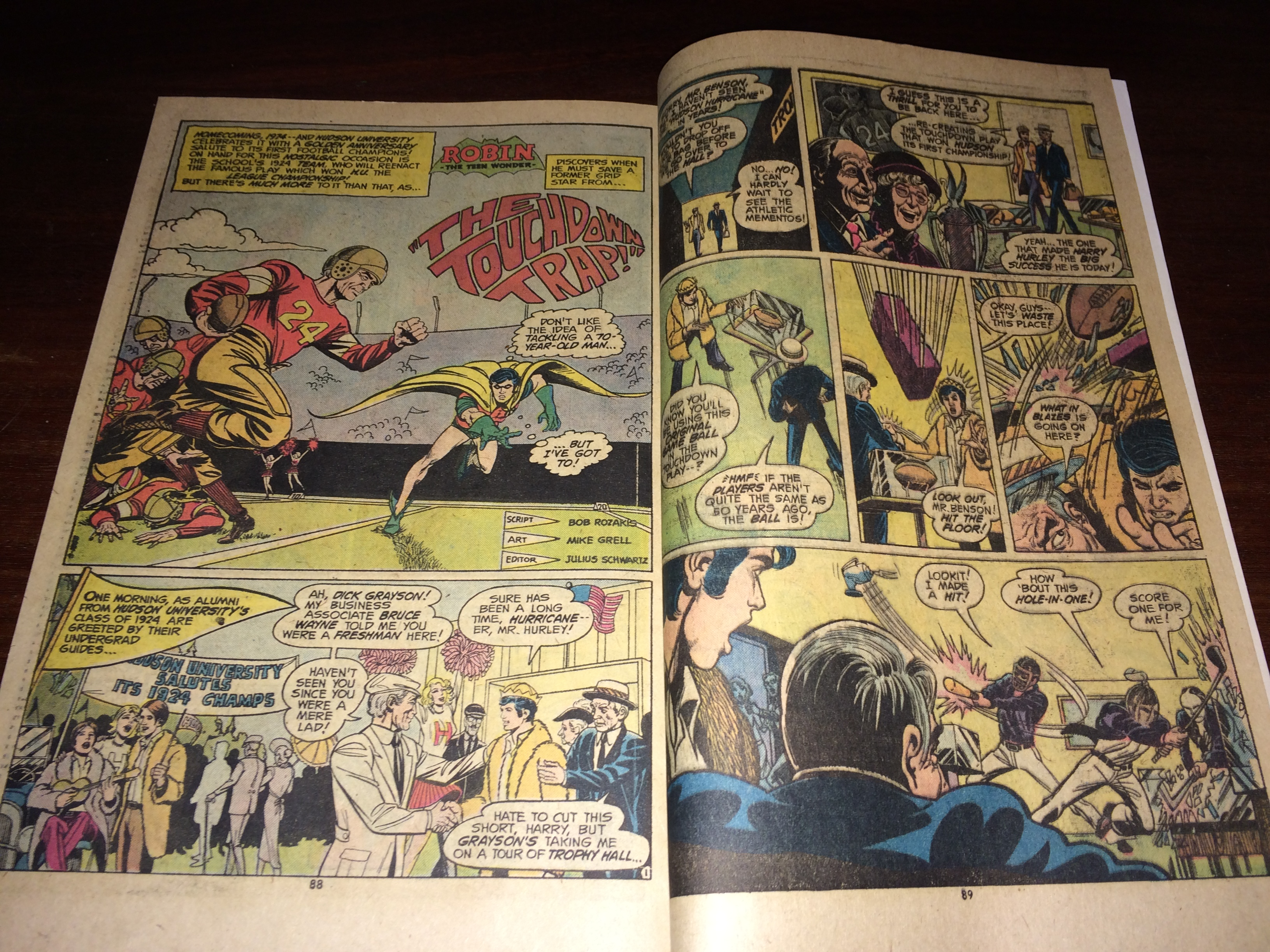 Bob's first Robin solo story in Detective.