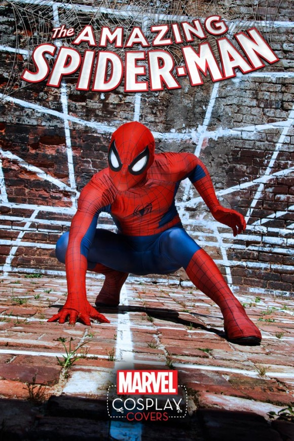 Amazing Spider-Man #1 Cosplay Variant by Aaron Rivin