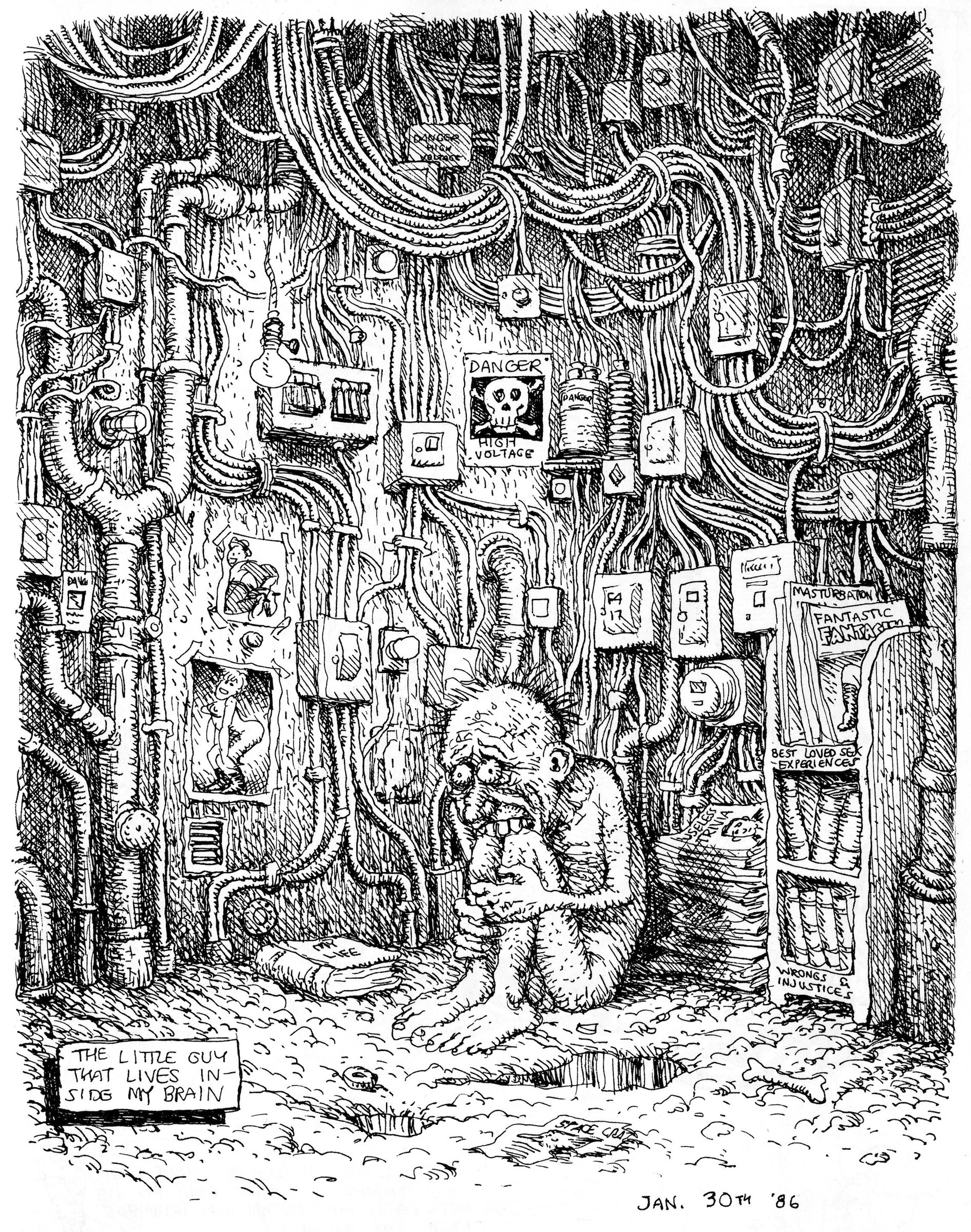 Part Of Art : Great sketches a robert crumb birthday retrospective