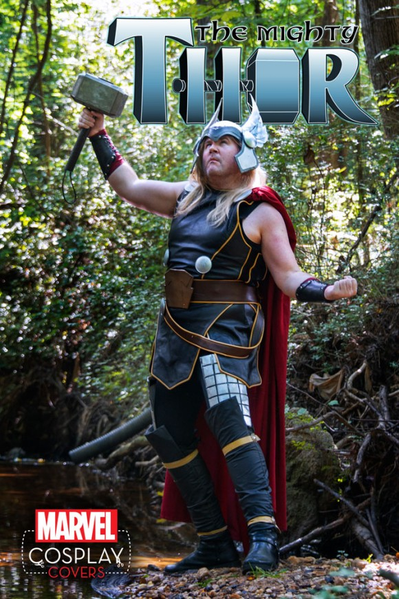 The Mighty Thor #2 Cosplay Variant by Kevin Spooner