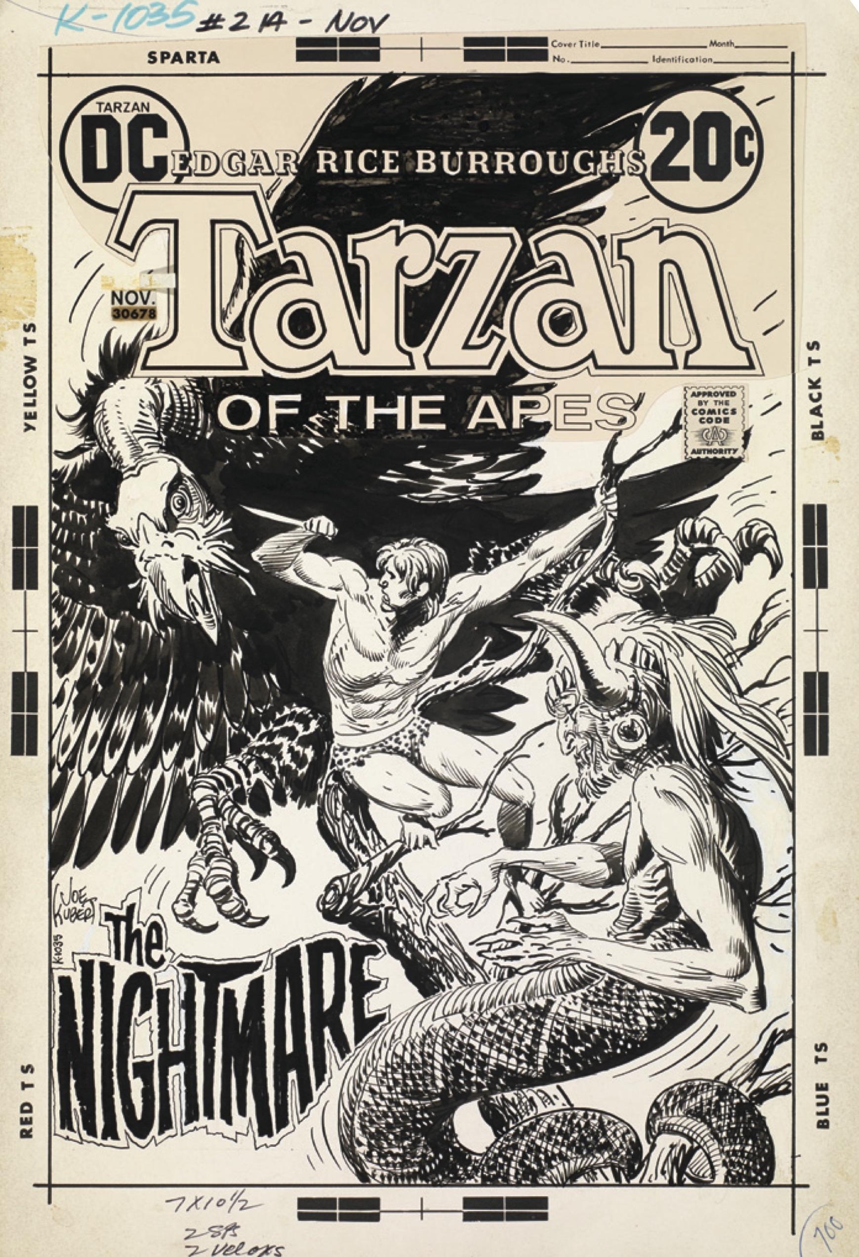 Kubert Tarzan AE pgs-1 copy