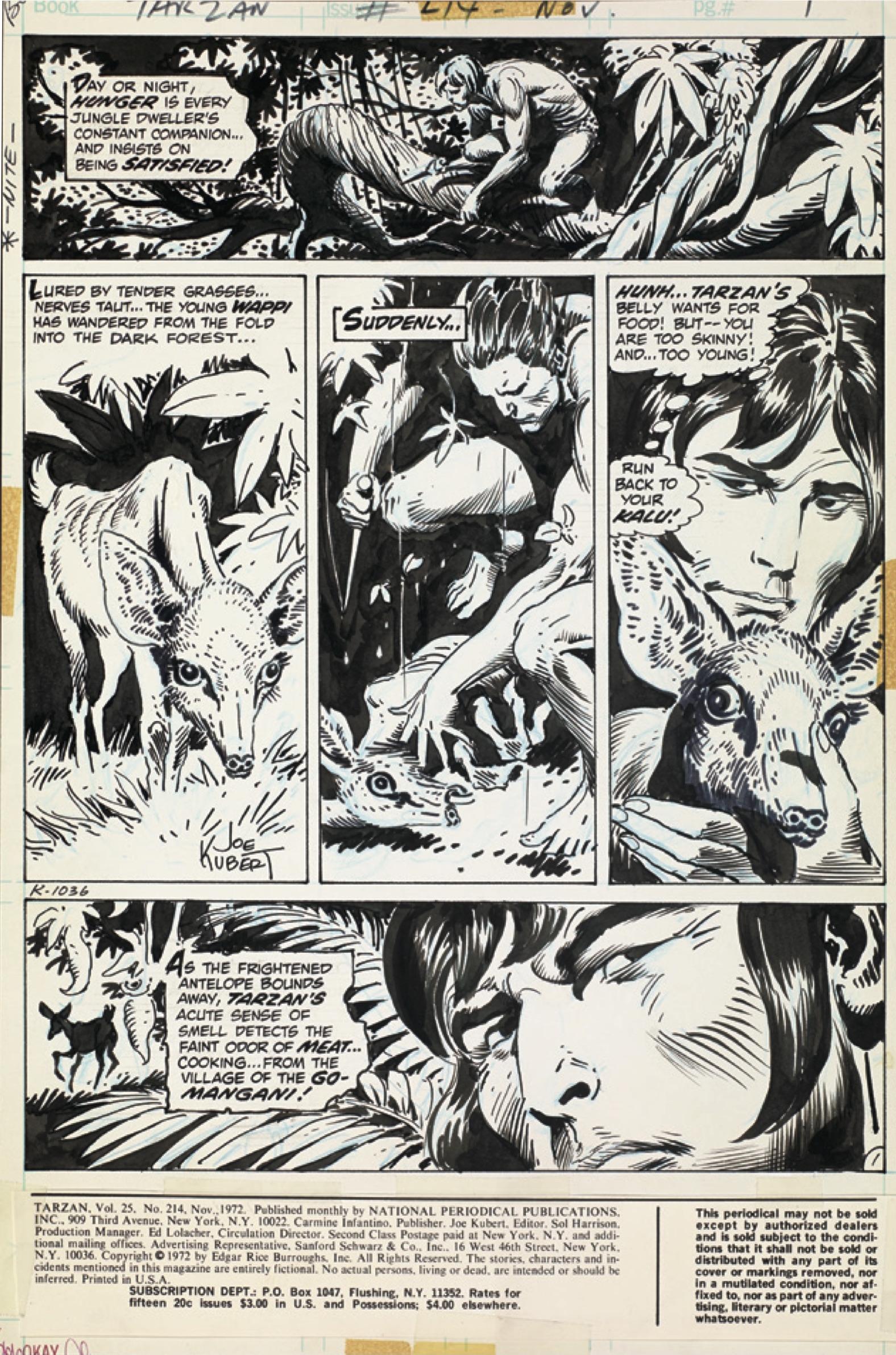 Kubert Tarzan AE pgs-1