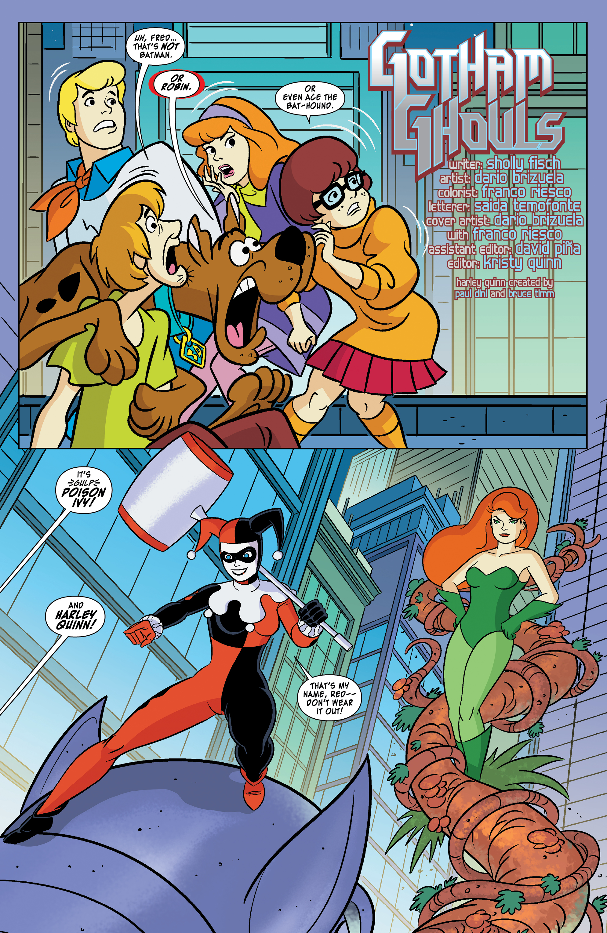 exclusive preview: scooby-doo! team-up #12 | 13th dimension, comics