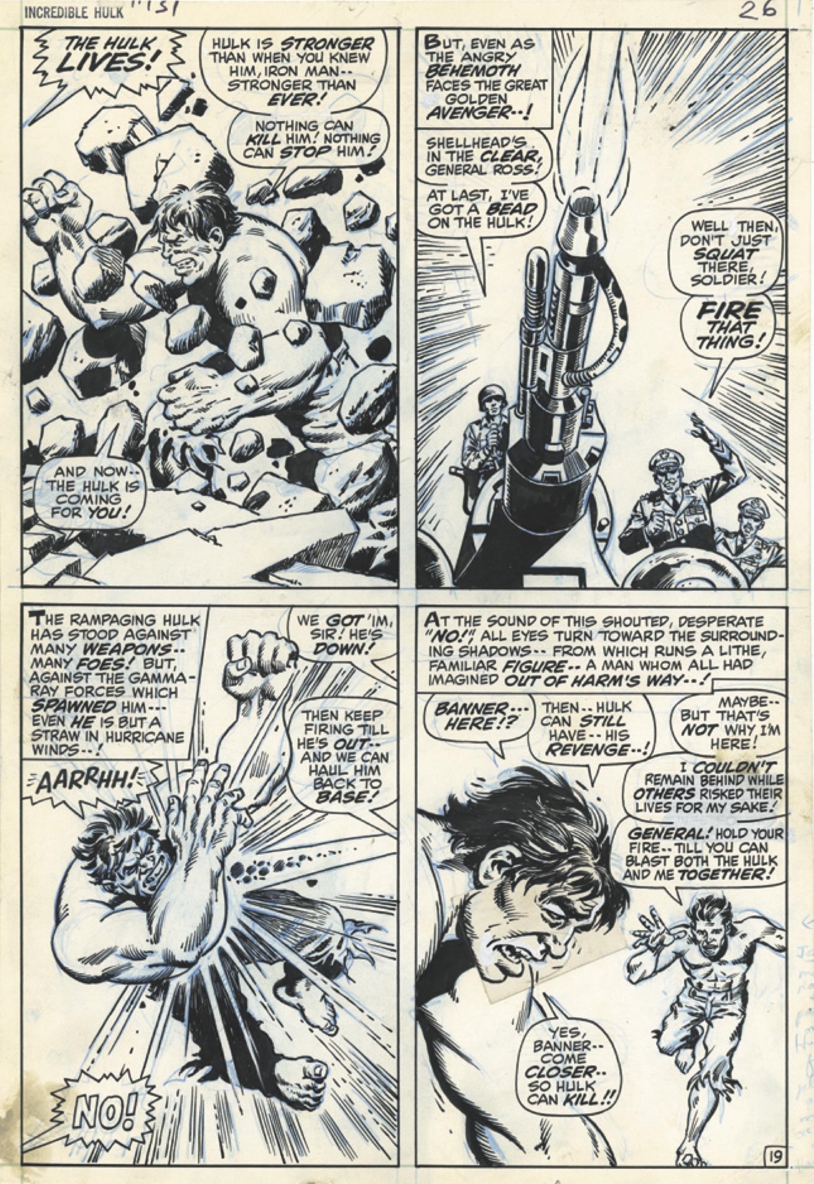 Trimpe Hulk AE pgs 4A