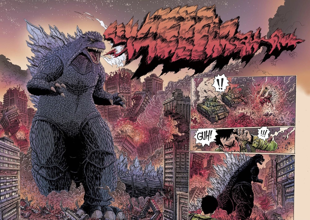 13 Monsters godzilla stokoe