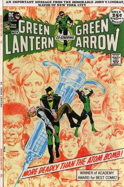 I will always start Green Arrow with Neal Adams when I can.