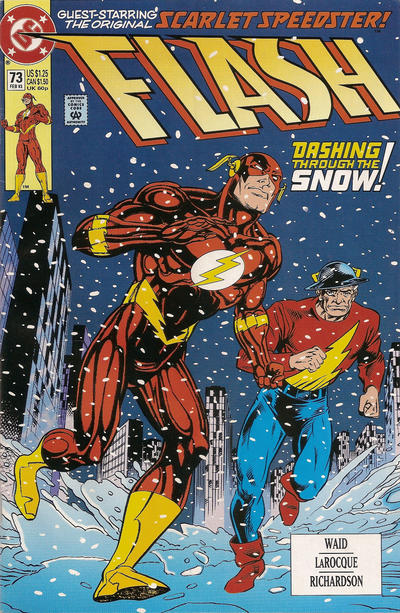 Greg LaRocque/Roy Richardson -- and yes, I know some of these have Wally West as the Flash. Sue me.