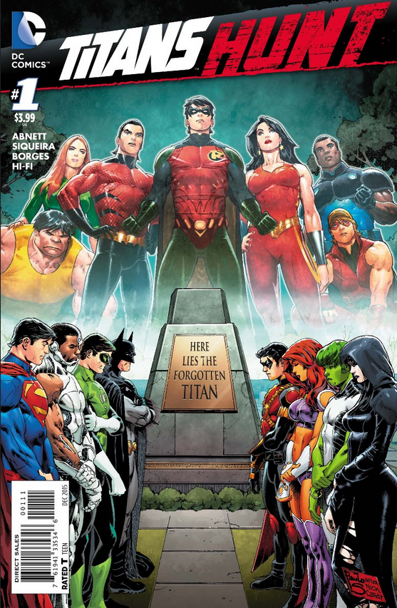 Look at that logo! And that's a Cardy homage there ... and homage to a JLA cover!