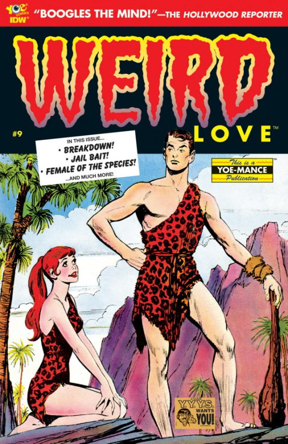 The most recent issue of Weird Love. That's a John Buscema cover!