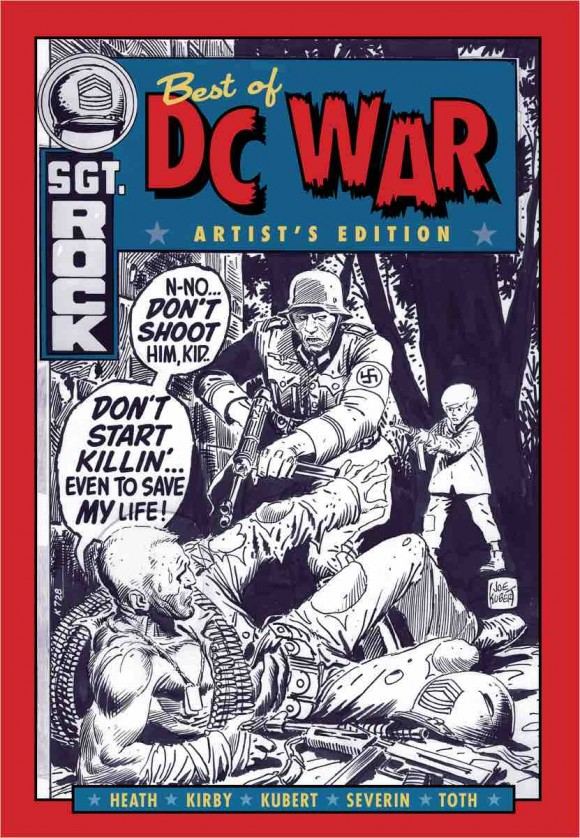 best of DC war cover