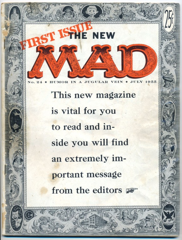 First version of MAD as a magazine