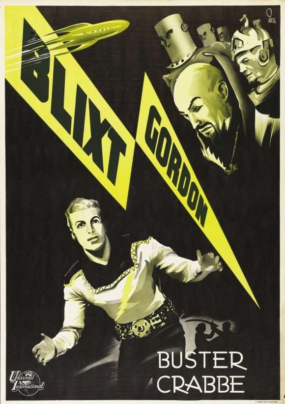 Swedish Flash Gordon poster