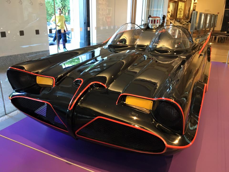The Batmobile #3, on display at the New-York Historical Society