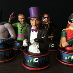 BUILDING BATMAN '66: Diamond's PENGUIN Bust