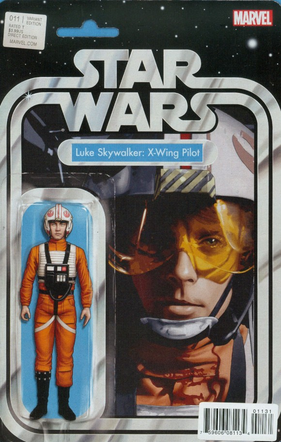 John Tyler Christopher. One of my faves of his action-figure covers